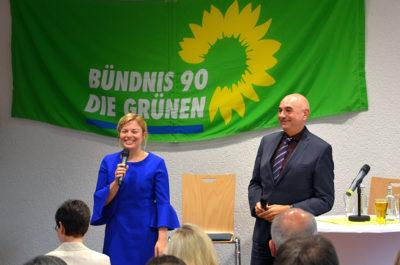 Katharina Schulze und Jürgen Mistol