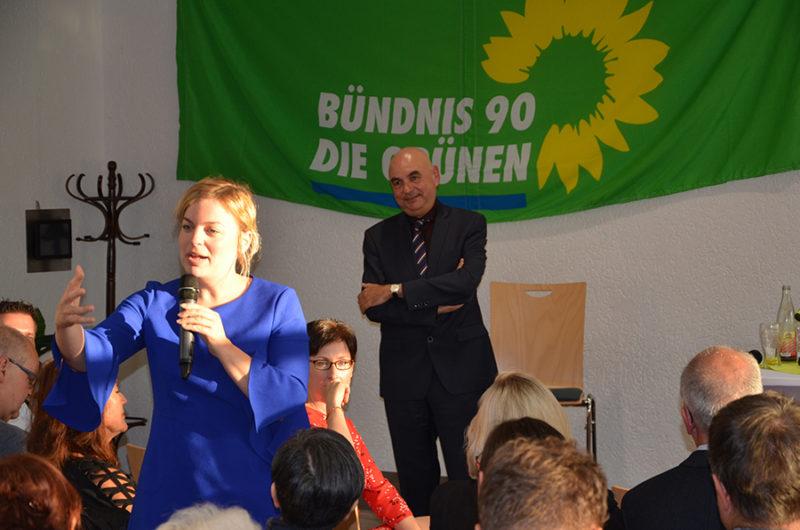 Katharina Schulze und Jürgen Mistol in Regenstauf