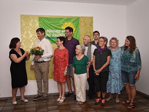 Grüne Bürgermeisterwahl für 2020 Regenstauf, Foto: Harald Portele